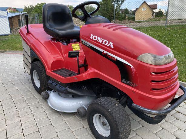Traktorek kosiarka Honda 2417 - 17 km V2 pompa, hydro 2009 rok