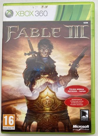 XBOX 360; gra: Fable III PL