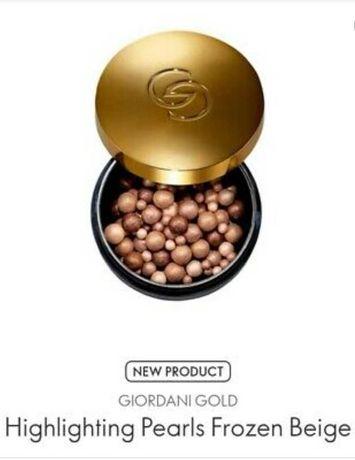 Oriflame perełki rozświetlające Giordani Gold