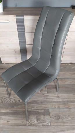 Krzesło H-104 szare/ekoskóra