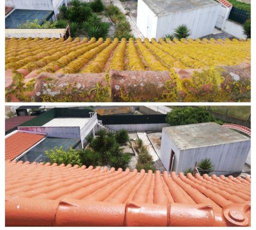 Limpeza de telhados e manutenção