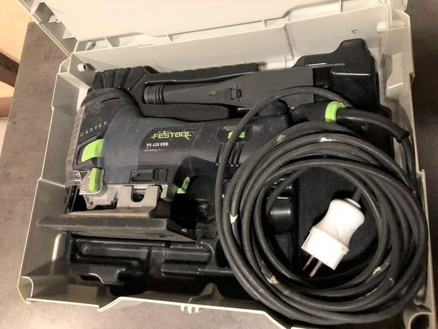 Маятниковый лобзик Festool Фестул CARVEX PS 420 EBQ-Plus электролобзик