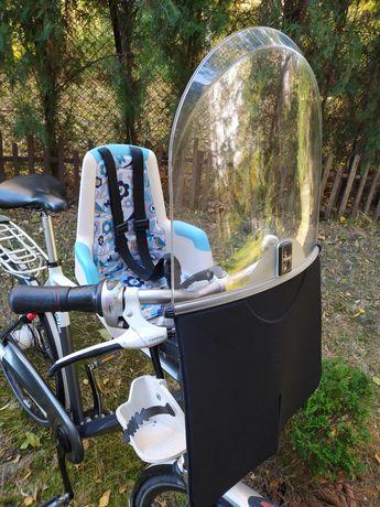 Fotelik rowerowy na przód Bobike Mini Plus fotelik przedni na rower