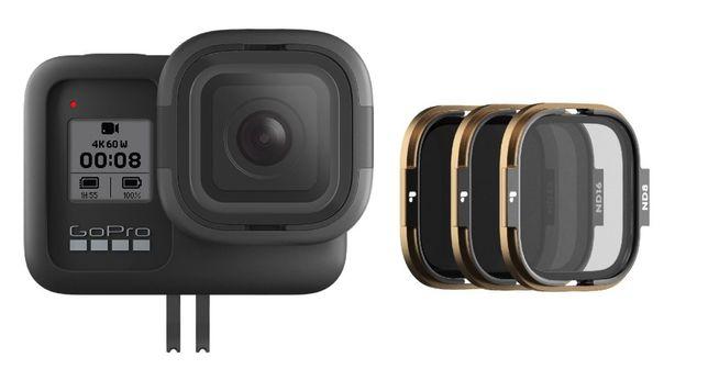 RollCage GoPro 8 + PolarPro - Filtros ND (x3) - Novo - Portes Grátis