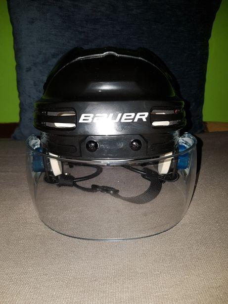 Kask Bauer BHH4500 + pleksa FISHER vision16 pro