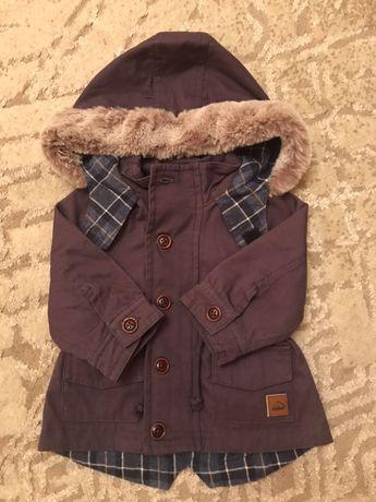 Куртка парка для хлопчика