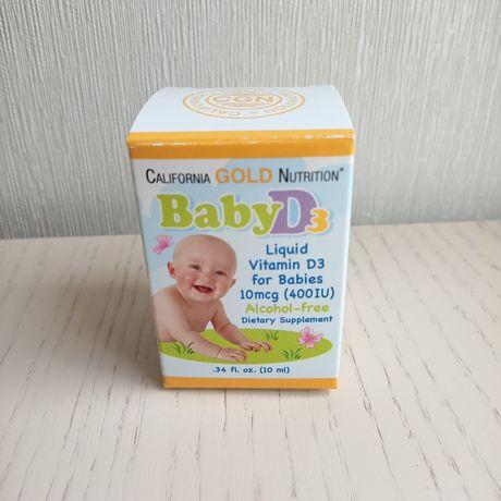 Витамин Д3/D3 детский Iherb