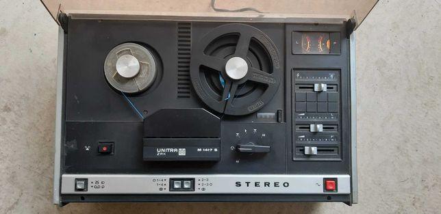 Magnetofon szpulowy Uwertura Unitra M 1417 S