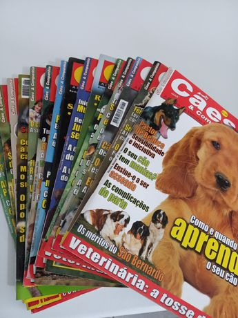 16 Revistas cães e companhia