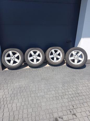 Felgi z oponami zimowymi 5x112 r16 225/55. Audi