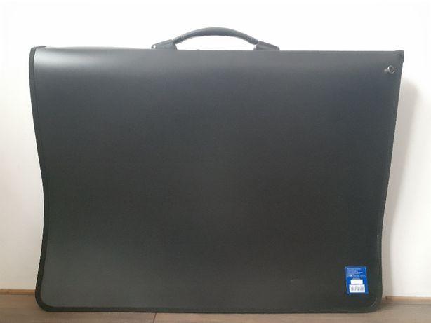 Папка-портфель пластикова, с 6-ю кольцами, A2, Buromax