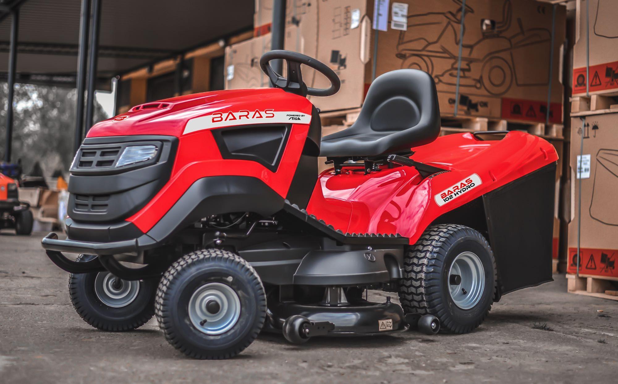 Traktorek ogrodowy BARAS 102 Hydro powered by Stiga 6102!