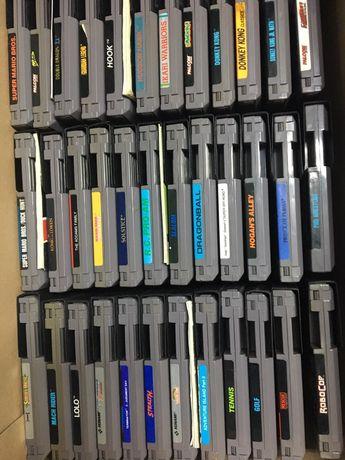 Coleção 65 jogos Nintendo NES Cartuchos PAL B
