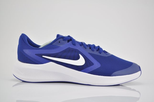 "Nike Downshifter 10 (GS) ""Blue/White"" 38,5 39 40 niebieskie PURRFECT"