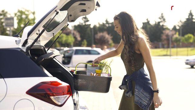 Автомобильная корзина для покупок в супермаркете Rati Basket, Armster