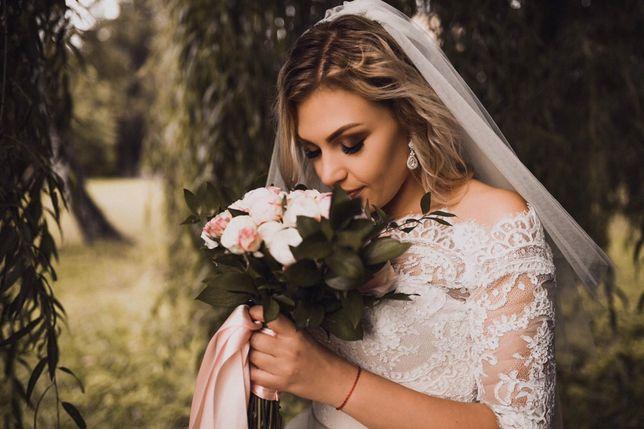Дуже красива та ніжна весільна сукня