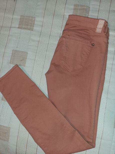 Calças cor de Tijolo