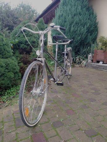 Rower tandem leżak