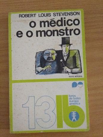 O médico e o monstro - Robert Louis Stevenson (edição de 1971)