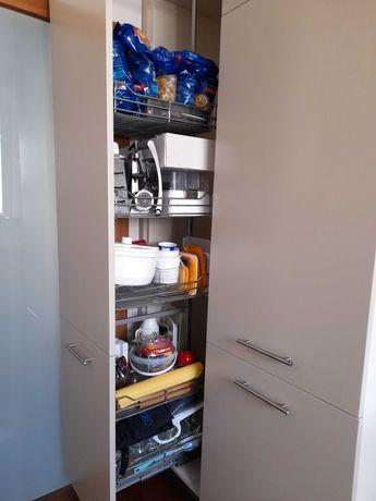 Kuchnia - meble, AGD Siemens (lodówka piekarnik pochłaniacz) + 2 cargo