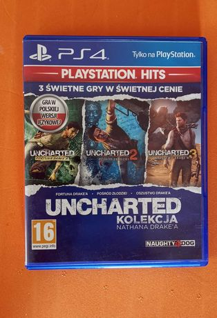 PS4 Uncharted kolekcja 1 2 3