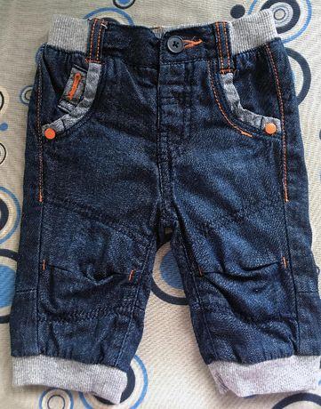 Утепленные джинсы george 0-3 месяца