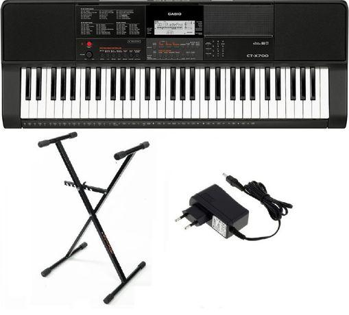 Keyboard Casio CT X700 statyw NOWY WYSYŁKA w cenie 5lat gw.