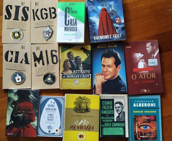Vendo vários livros nacionais e internacionais