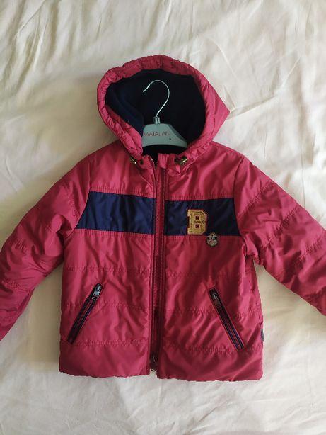 Куртка демисезонная на мальчика Бемби р.104