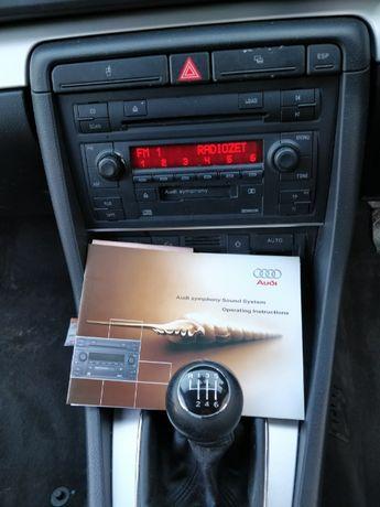 Radio symphony 2 din Audi A4 B7 B7 z kodem