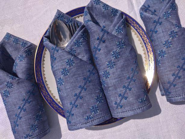 Салфетки из льна для сервировки стола