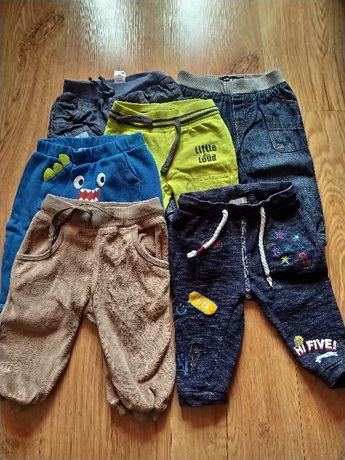 Spodnie dresy rozmiar 68
