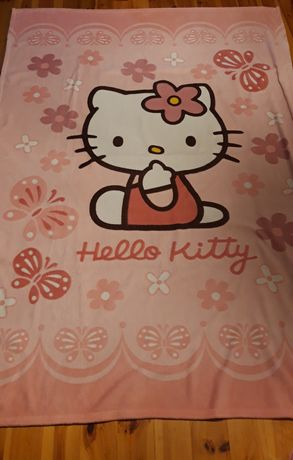 Koc Hello Kitty duży 145 cm x 200cm