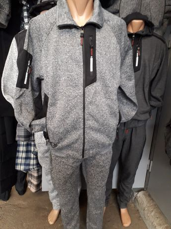 Супер баталы. Мужские  куртки-толстовки.Флис. Зима.3XL- 7XL. Польша.