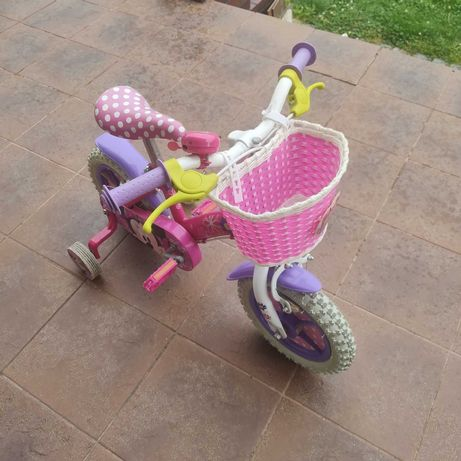 Rowerek myszka Miki dla dziewczynki  koła 12'