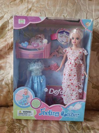 Продам беременную куклу Deta lucy в хорошем состоянии с аксессуарами