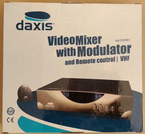 Misturador e Modulador Video 4 canais - Novo com Garantia!