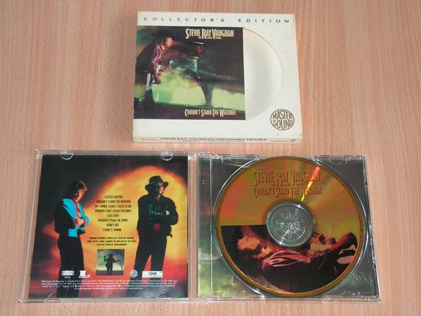 Stevie Ray Vaughan-Couldn't Stand the Weather EK 64425 slipcase GOLD