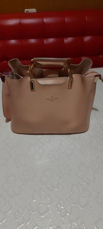 Персиковая сумка