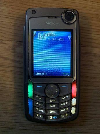 Nokia 6680 + carregador isqueiro + auricular