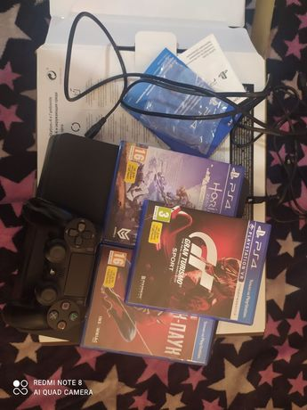Продам PS4 slim 1TB+ПОДАРОК+Подписка на 3 месяца