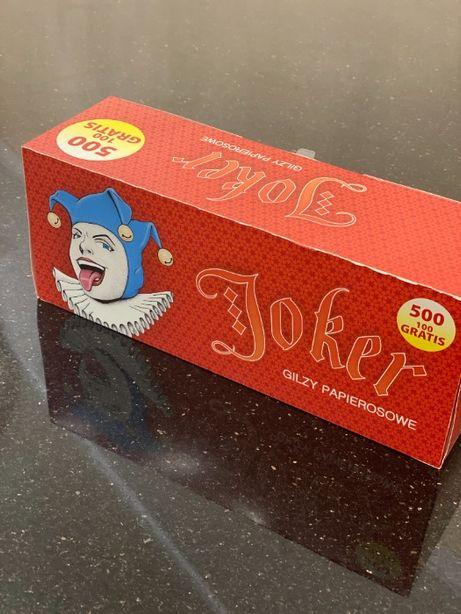 JOKER 500 1 ЯЩ Гильзы для сигарет, гильзы для табака,сигаретные гильзы