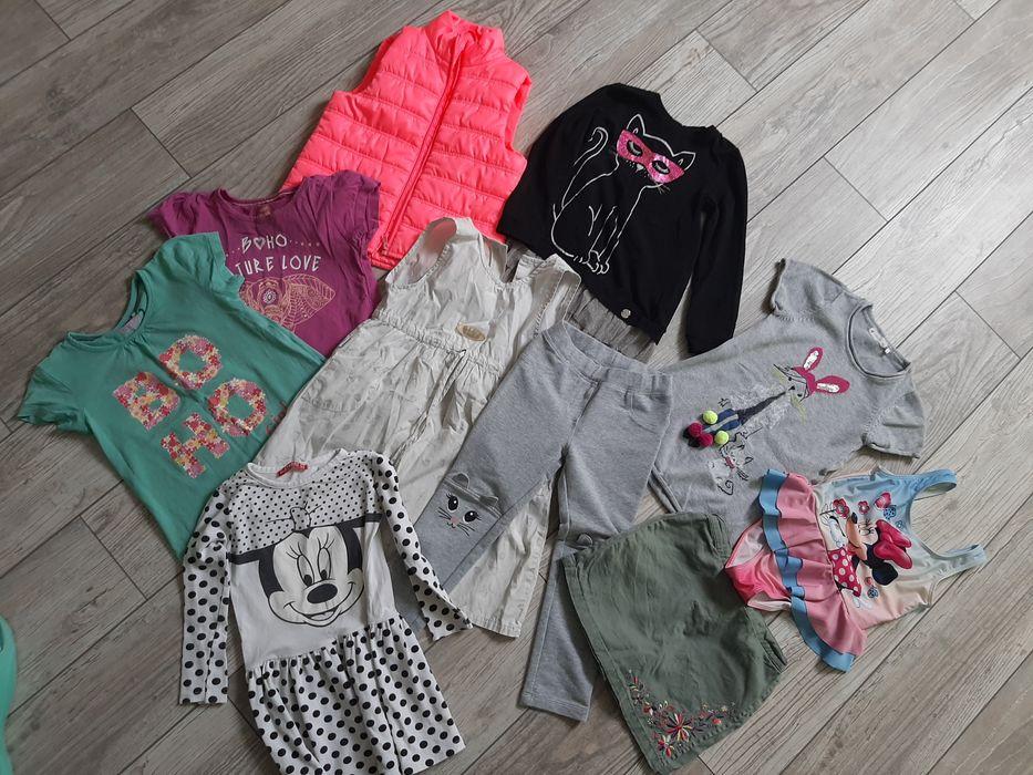 Zestaw ubrań  dla dziewczynki 98-104 szt 42 Piła - image 1