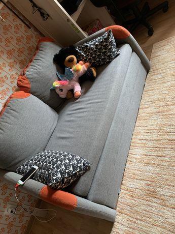 Mała kanapa rozkładana 2 os