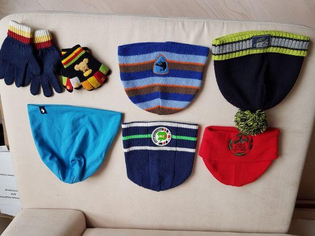 Шапочки и перчатки
