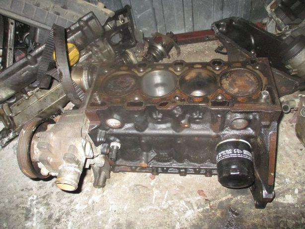 Opel Astra Zafira 1.6 105 KM Z16XEP silnik dół silnika blok wał tłoki