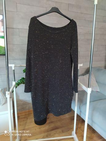 Sweter tunika sukienka