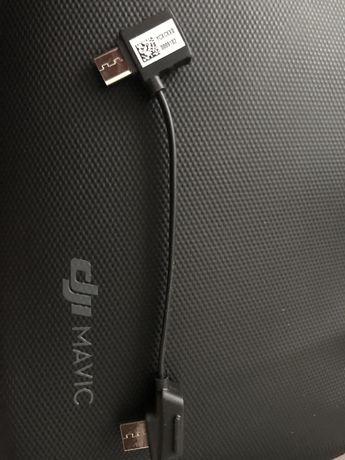 Nowy oryginalny kabel DJI Mavic 2/Pro/Air/Mini  Micro USB