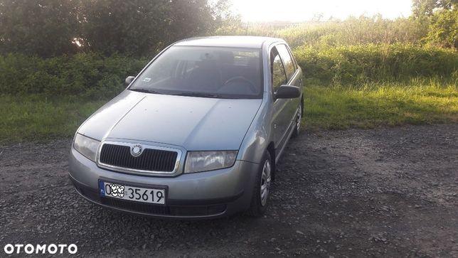 Škoda Fabia Skoda Fabia 2002 rok poj 1400cm MPI 2airbag wspomaganie abs