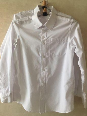 Рубашки белые школа  F&F , 11,12,13,14,